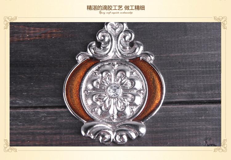欧式挂钟 客厅实木摆钟创意艺术壁挂钟表