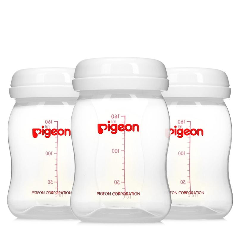 贝亲(Pigeon)母乳储存瓶 三支装 QA33