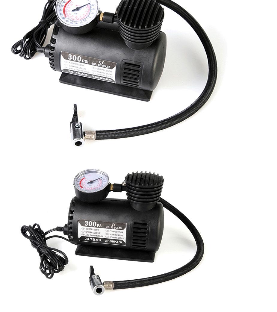开馨宝 多用途电动车载充气泵汽车电动车自行车打气机