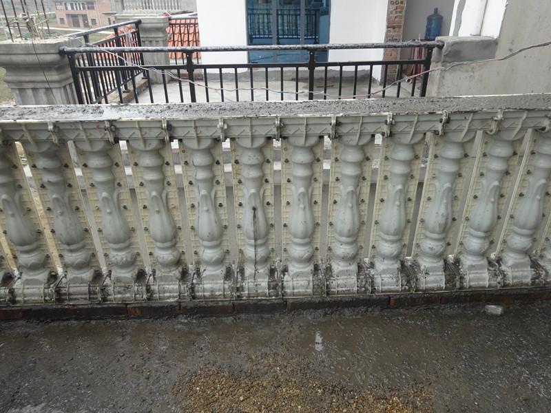 欧式水泥构件罗马柱模具兰花花瓶模具阳台现浇塑钢护栏