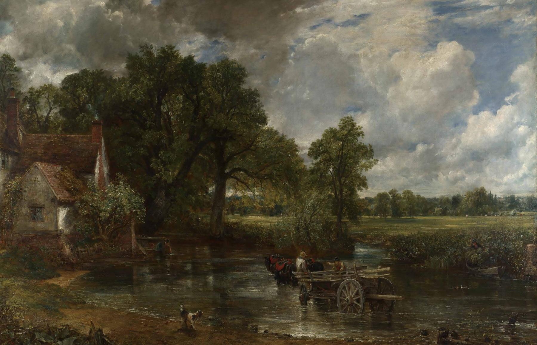 英国风景画大师 西方风景画大师作品精选 色彩风景油画集画册素描艺术