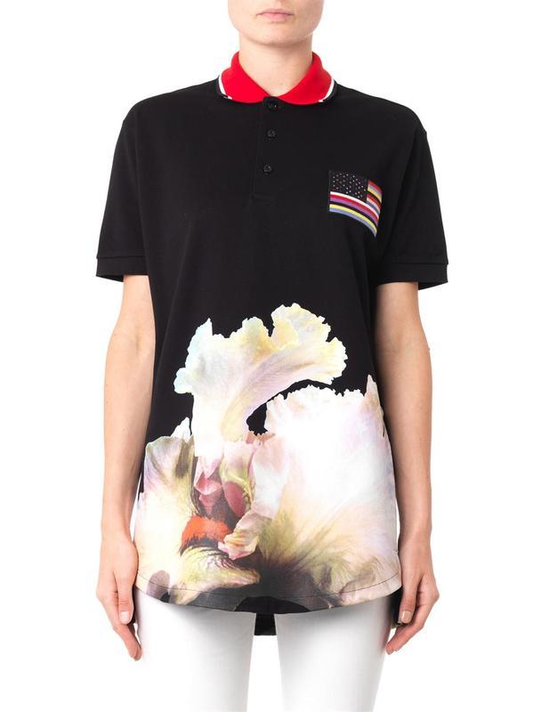 衣服手绘兰花图片