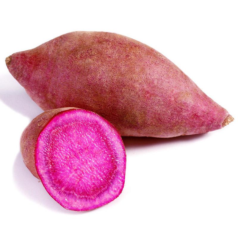【任我在线】北京同城配送 精品紫薯 紫地瓜 精品蔬菜 新鲜 直达 400g以上
