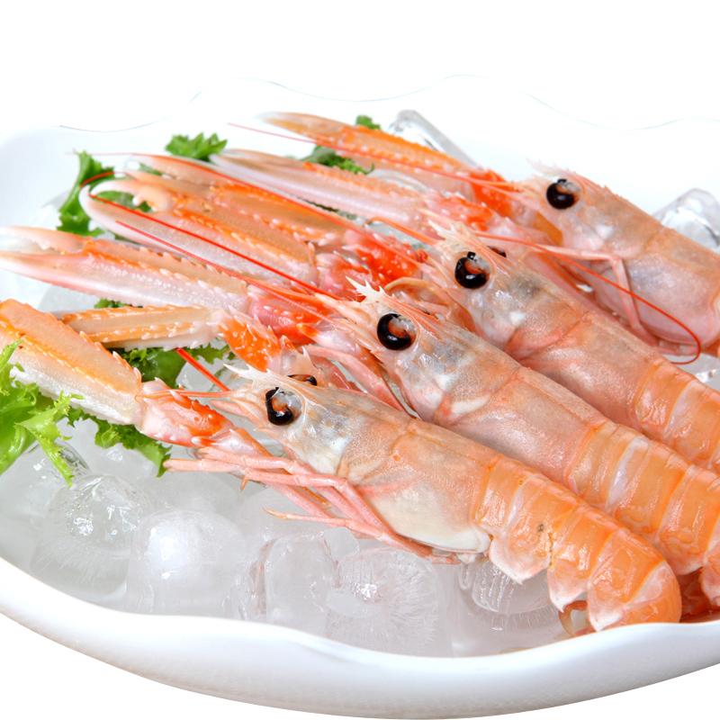 【蓝雪】挪威龙虾32-40尾/1kg  500g/盒 冷冻海鳌虾