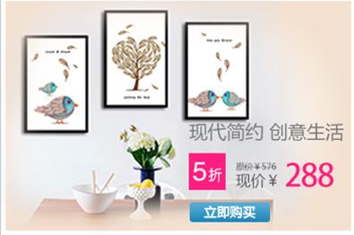 餐厅装饰画壁画挂画墙画梵高油画向日葵手绘画 银色边框 50*60