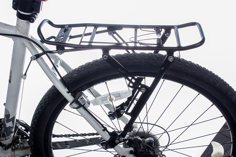 tuban 山地车自行车快拆后货架 碟刹后座铝合金尾架 配件装备后车架