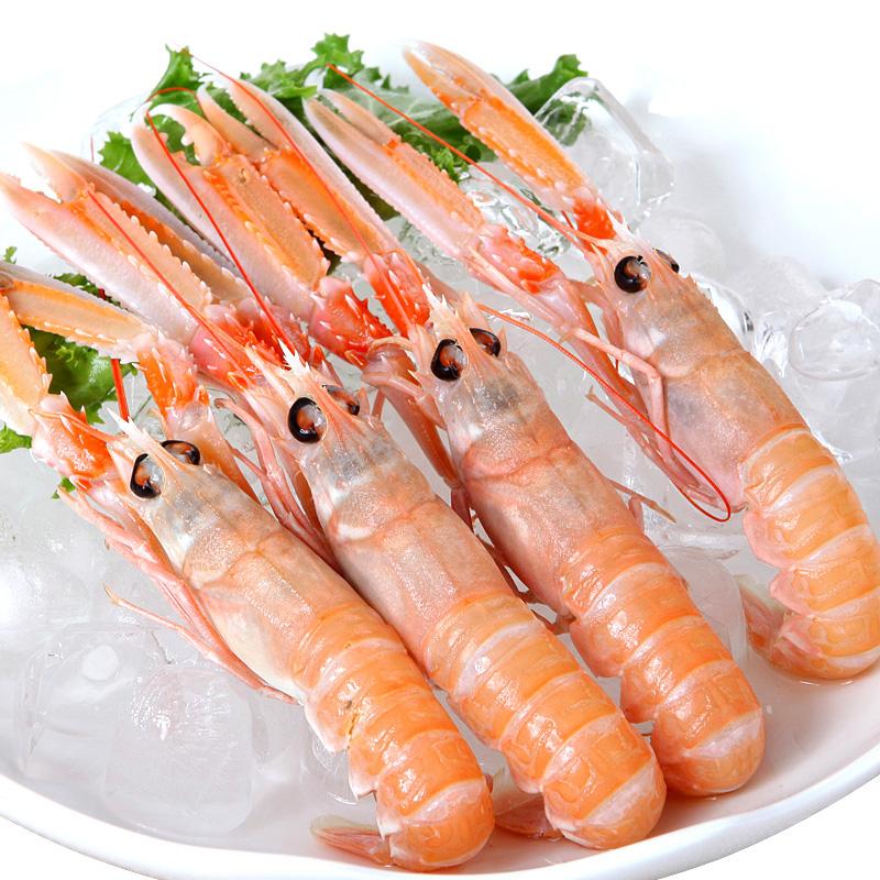 【蓝雪】即食冷冻挪威龙虾  海螯虾刺身21-30尾/kg 3斤/礼盒