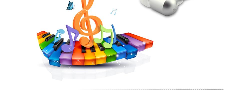 罗凡尼 a7 时尚入耳式音乐耳机 白色