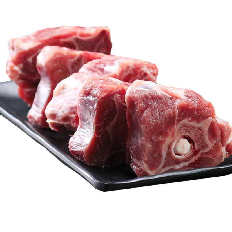 商品名称:草原力生 内蒙古羊蝎子羔羊肉羊脊骨火锅食材龙骨段 500g