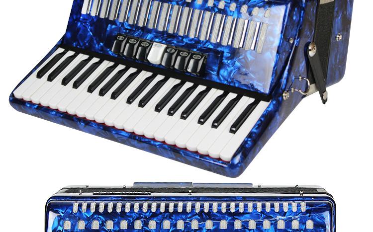 贝司蓝色手风琴