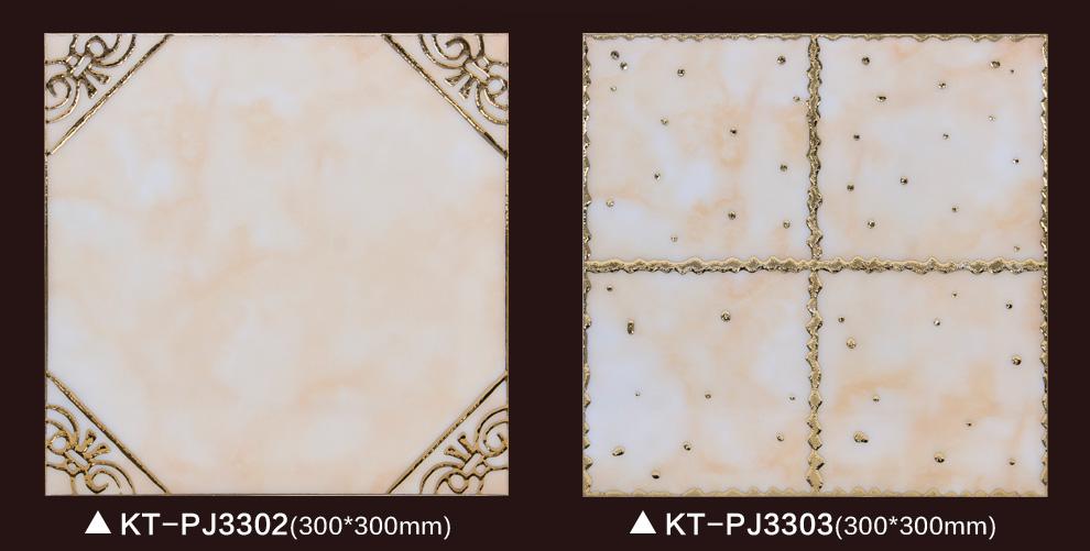 健唯 镀金抛晶砖厨卫砖 墙面地砖防滑地砖欧式 田园风图片
