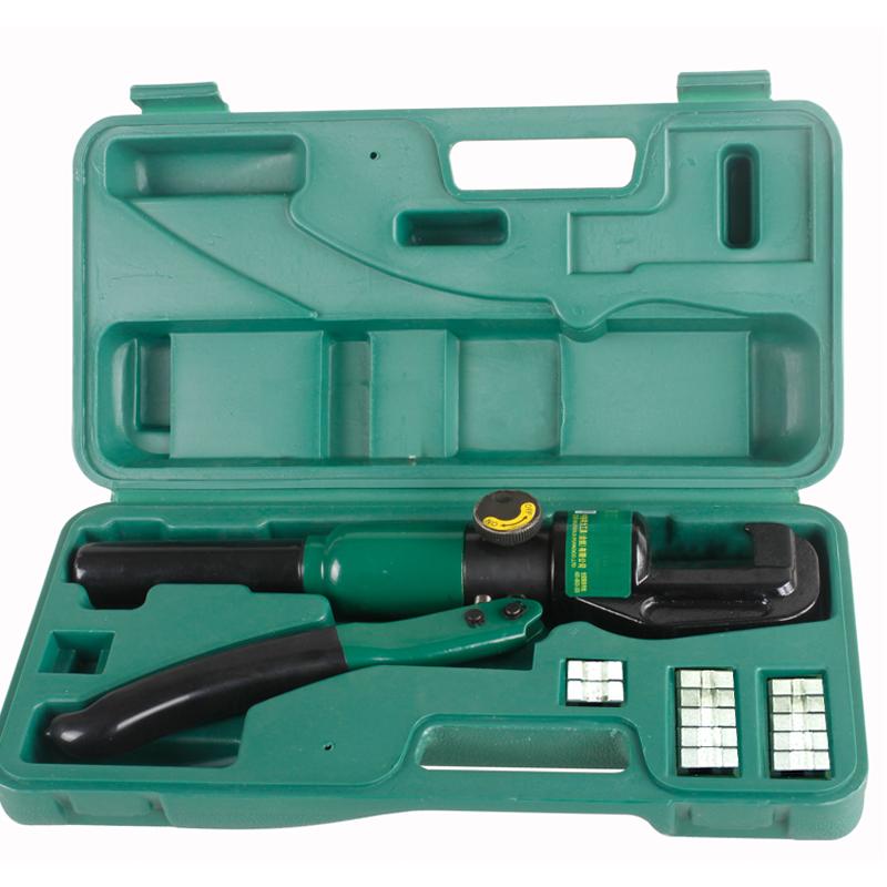 得力deli工具 手动液压钳 液压压接钳 压线钳 电线端子钳 dl-yq70图片