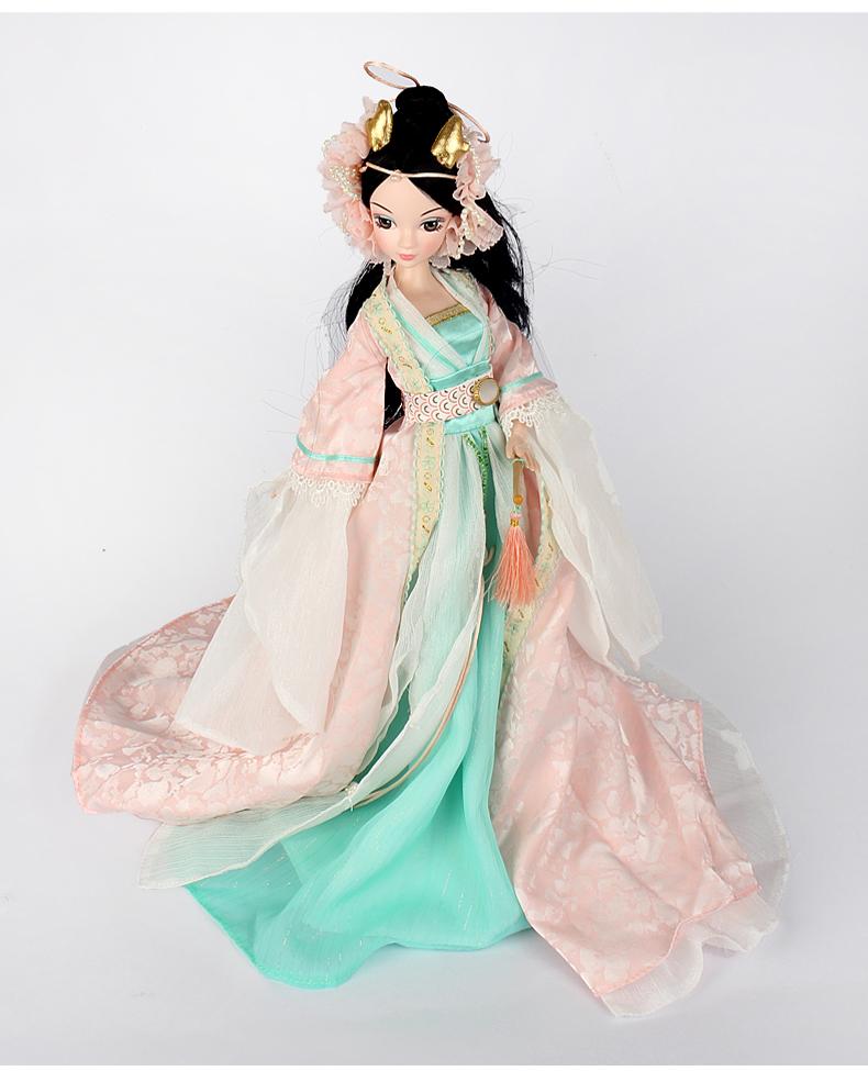给娃娃古装衣服设计图展示