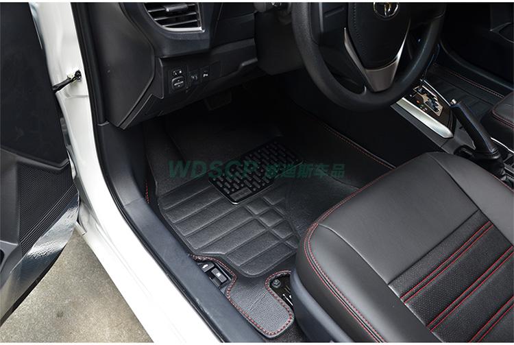 丰田2014款卡罗拉雷凌汽车专用脚垫