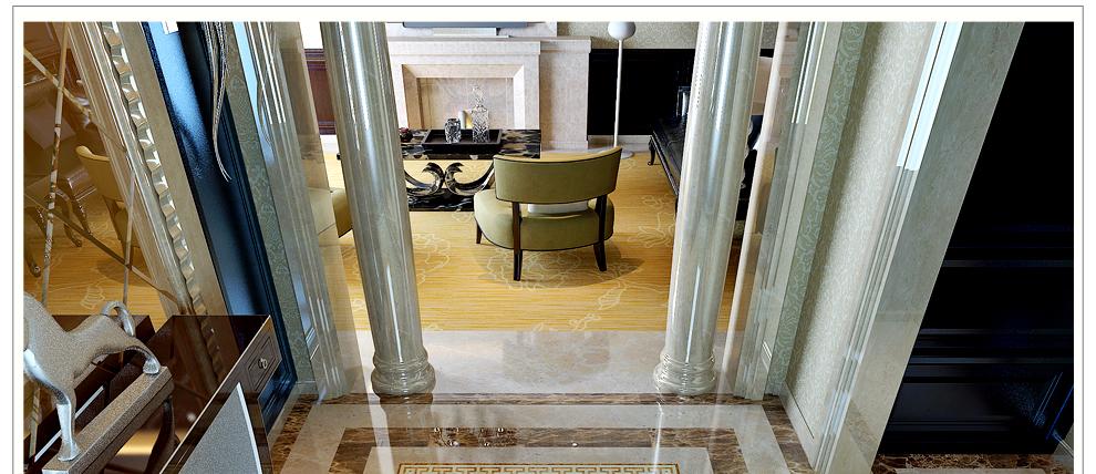 健唯瓷砖 客厅地砖 拼花地毯砖 玄关过道走廊入户抛晶