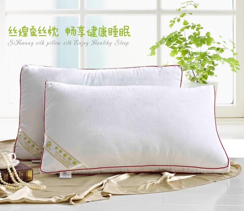 丝煌枕头蚕丝枕芯 正方形55x55cm 单只