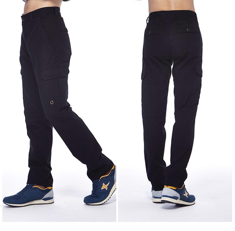 特步xtep 男运动长裤 修身男运动裤 时尚休闲裤 黑 l