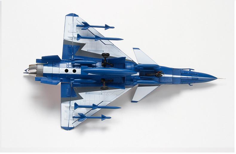 特尔博 1:72歼10珠海航展表演机 战斗机飞机模型 军事