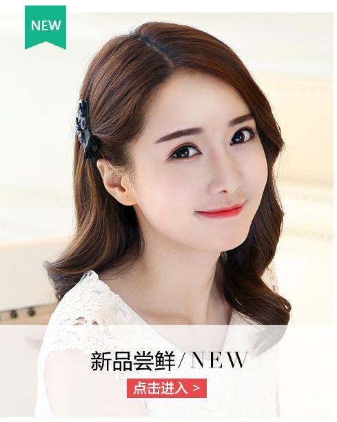 张太太新款发饰 漂亮头花抓夹中号发抓发夹发卡时尚卡子头饰d013 紫色