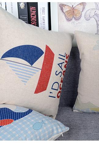 创意卡通系列 小清新系列 简约北欧风格 国际几何风格 仿真丝刺绣抱枕