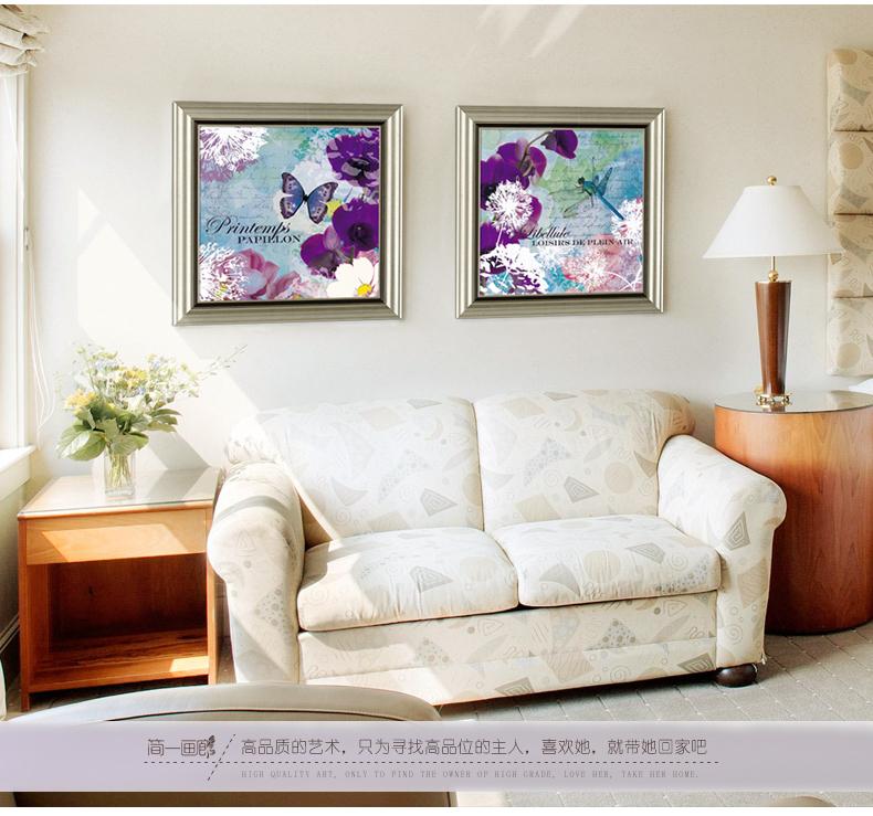 欧式壁画美式餐厅挂画客厅装饰画