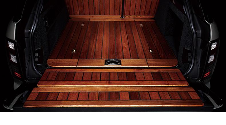 威威 原木汽车尾箱垫后备箱垫专车专用 原木-不带背板