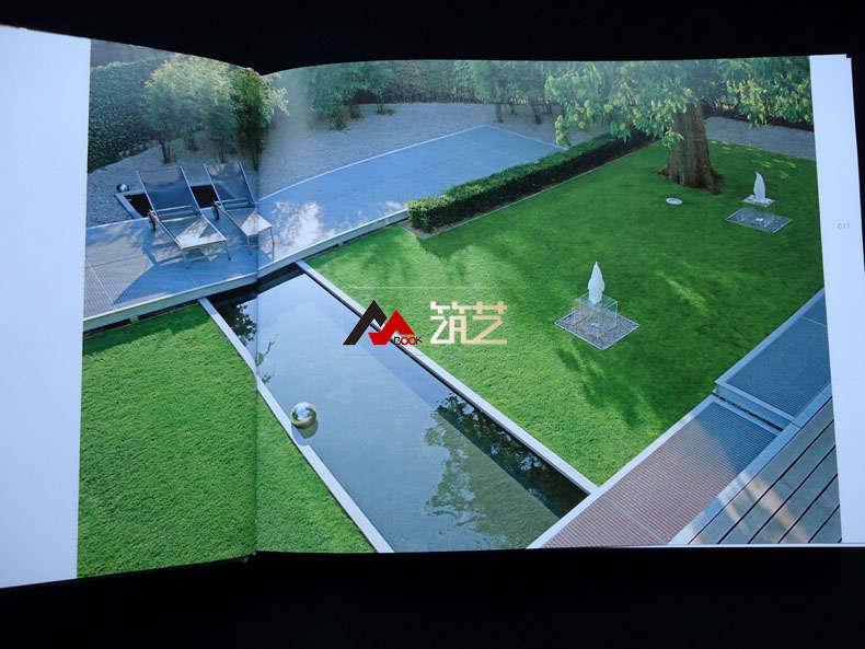 规则式庭园设计 欧洲现代新古典别墅豪宅庭院花园庭苑环境景观设计