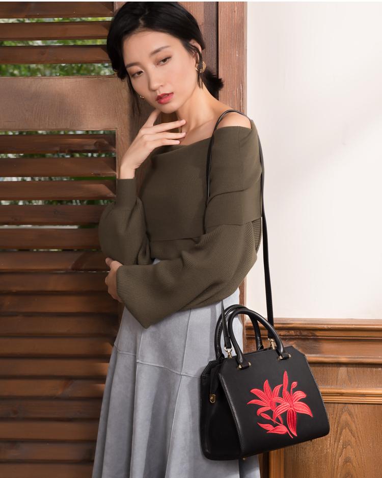 Túi xách nữ HONGU H5140355  - ảnh 4