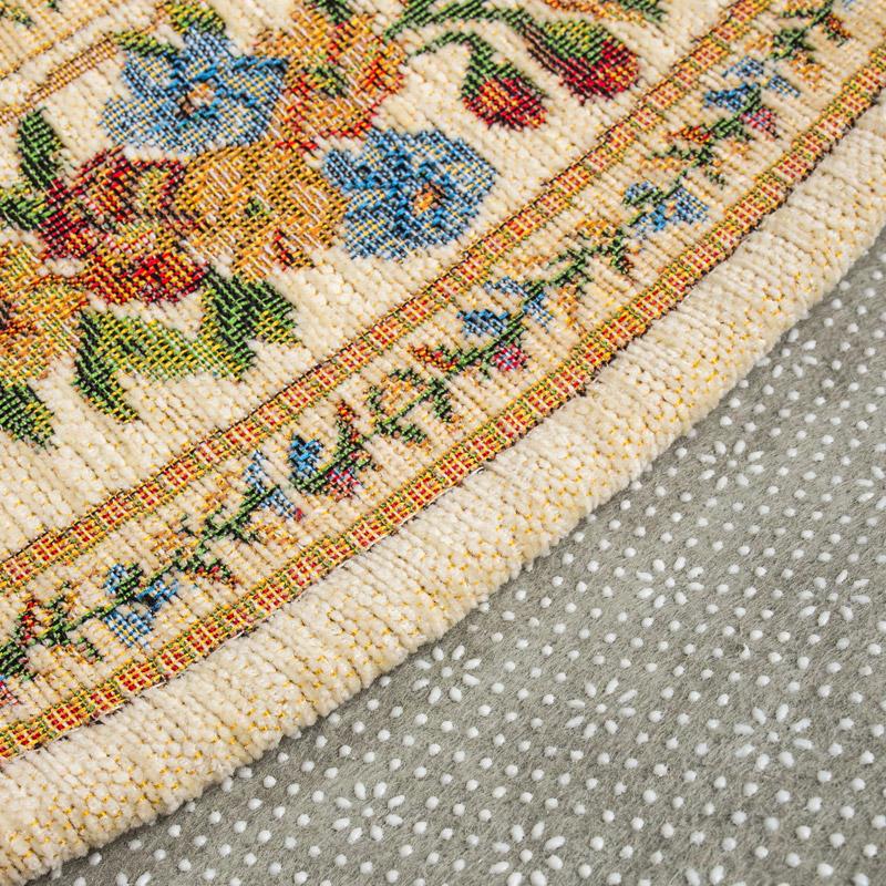 和润家居 欧美田园风卧室客厅地垫 休闲圆型地毯地垫