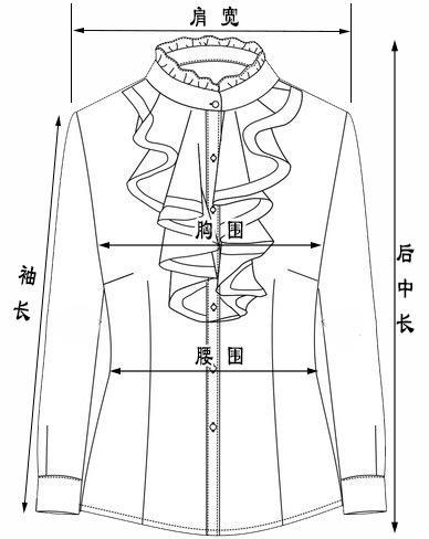 立领设计图手绘