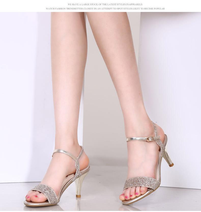 性感凉鞋-露趾高跟鞋