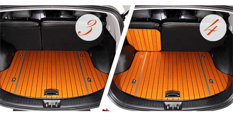 威威高档实木后备箱垫2015新款木饰尾箱垫专车专用订做四季通用 非州