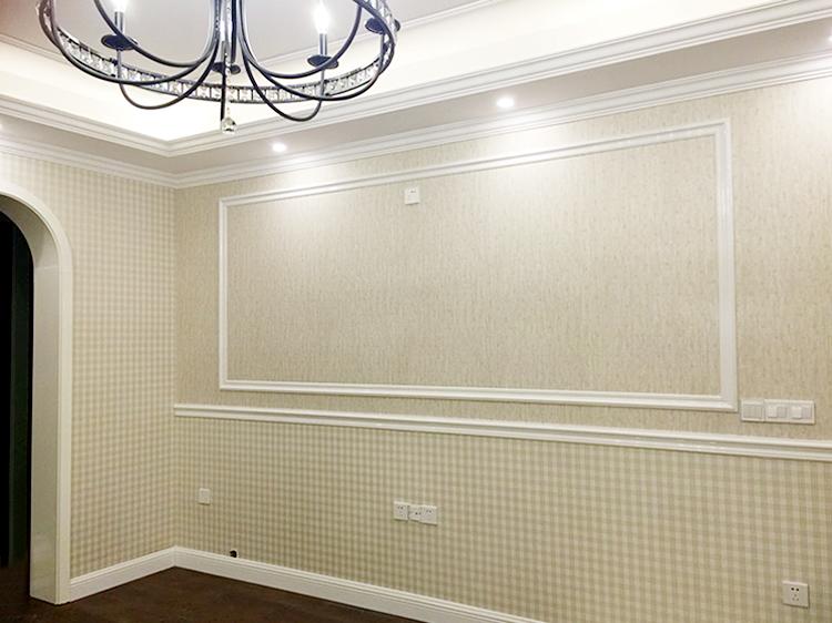 墨一 电视背景墙边框装饰条 门套线包边条收边线条装饰封边pvc装饰