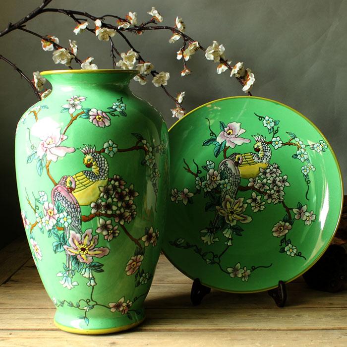 现代中式陶瓷花瓶