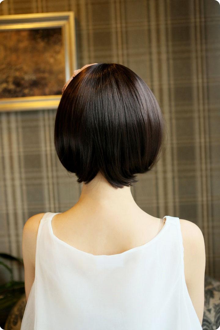 金凯丽假发 短发 帅气 蘑菇头 短发女生 bobo头 修脸非主流时尚可爱