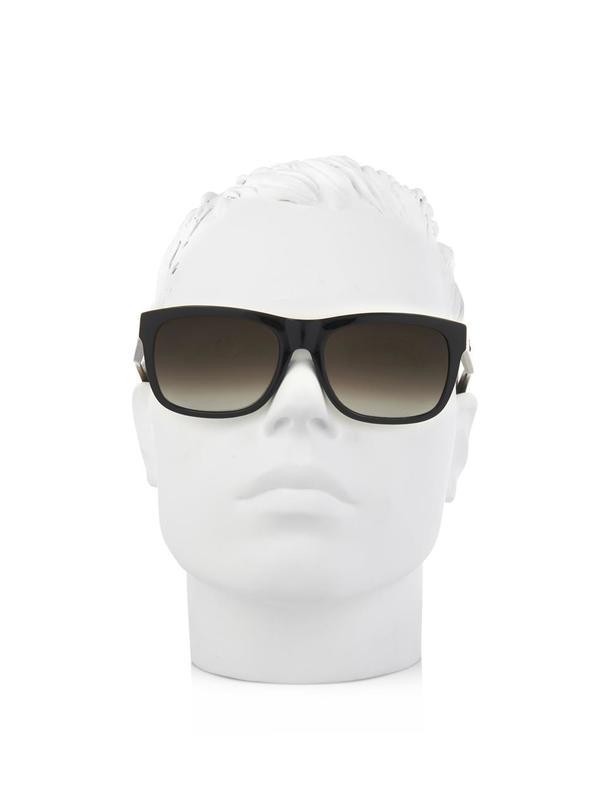 brown wayfarer sunglasses  brown and black