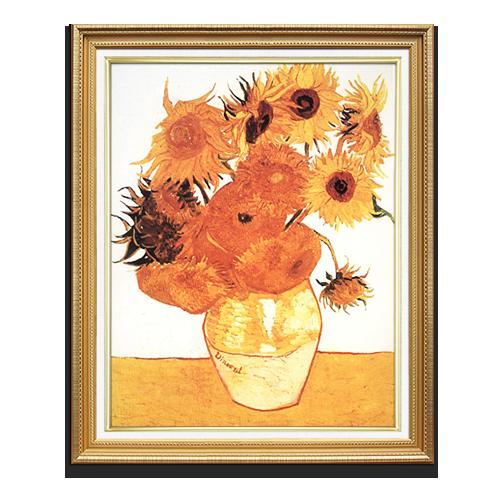手绘向日葵壁画