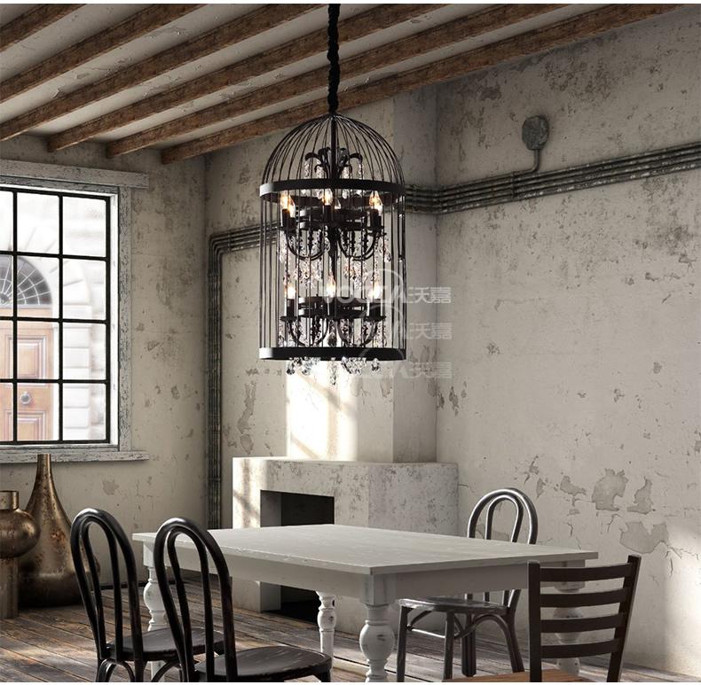北欧简约乡村美式工业复古客厅卧室餐厅门厅书房创意图片