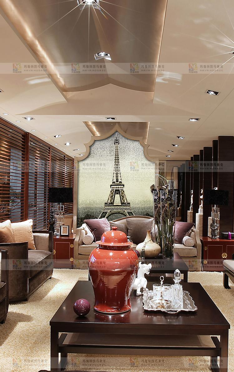 【玛雅拼图】埃菲尔铁塔异国风情法国巴黎浪漫之都冰雪埃菲尔玻璃