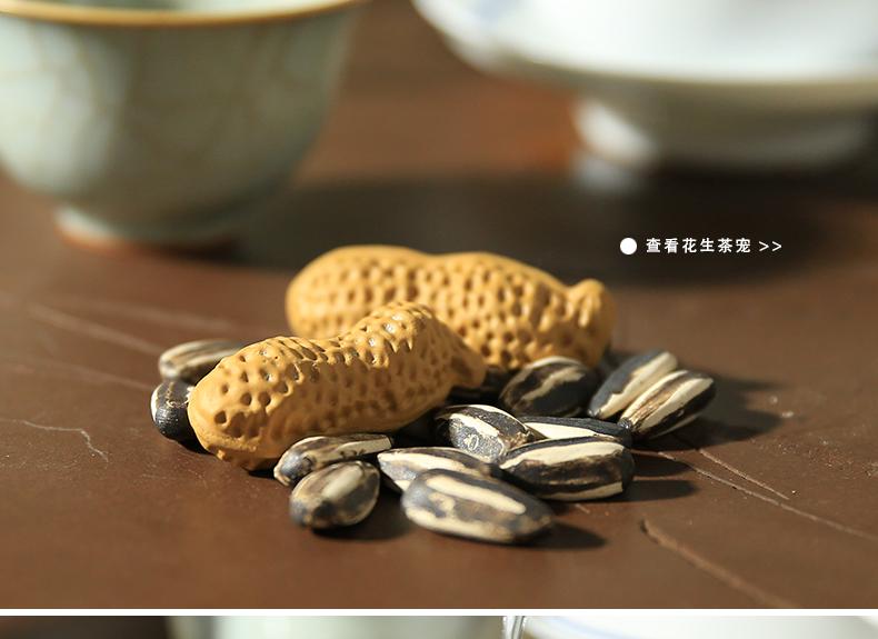 创意紫砂瓜子茶宠图片