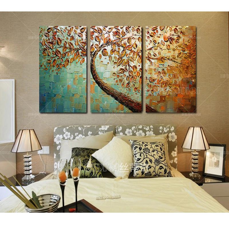 现代手绘油画抽象装饰画客厅花卉挂画时尚欧式家居