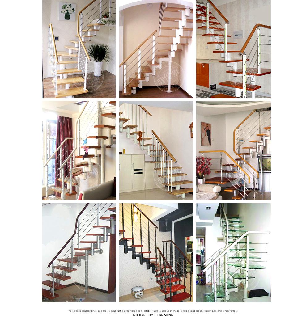 室内阁楼楼梯-木质阁楼楼梯-个性阁楼楼梯装修-最不占空间的楼梯图片