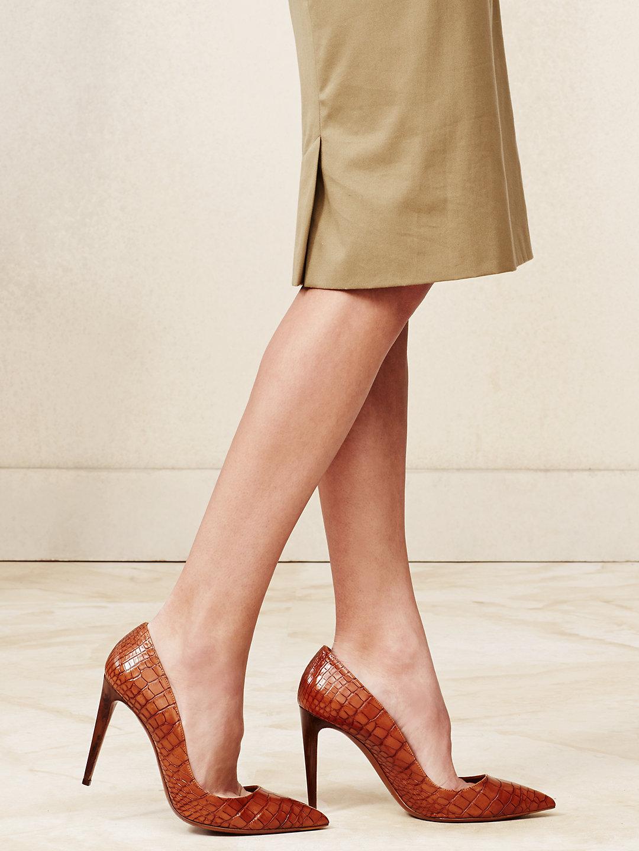 拉夫劳伦(ralph lauren)女士高跟鞋 细跟 时尚 尖头56911776