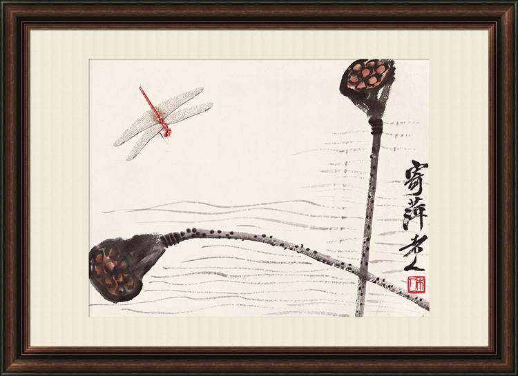 雅字画中式花鸟画-雅字画