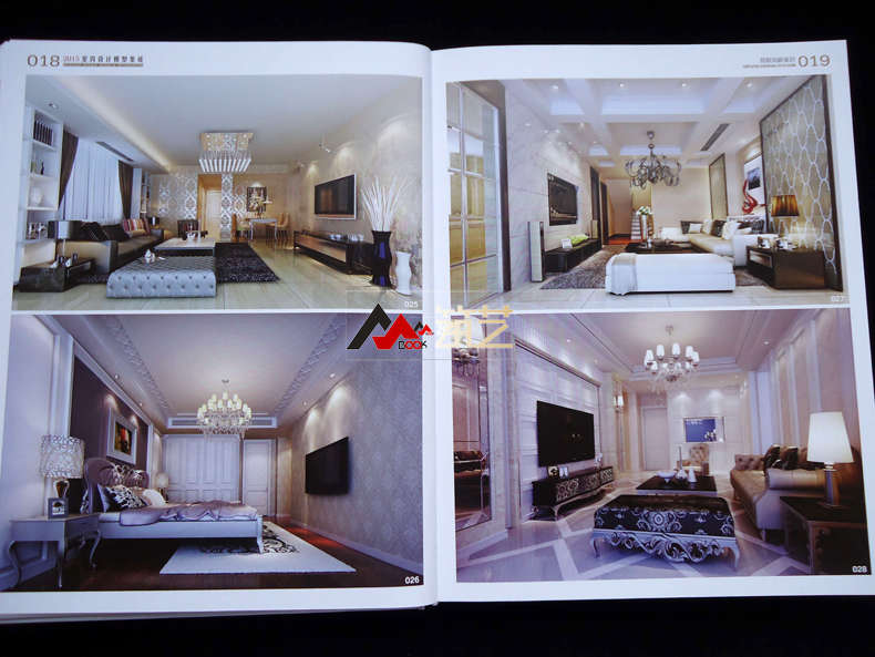 2015室内设计模型集成 简欧风格家居 简约欧式轻奢别墅豪宅样板房装图片