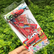 Montagut Student Folding Ruler Multifunctional Straightedge Folding Ruler Foldable Soft Ruler Primary School Student Snow White Frozen 30cm Curved Folding Ruler Painting Creative Ruler A Set of Rulers Car General Mobilization