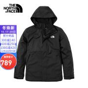 [Classic] North Face Jacket Men TheNorthFace Outdoor Windproof Single Layer Jacket Jacket JK3/Black L/175