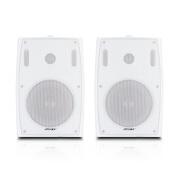 Shile SHILE BX-105 professioneller Konferenzlautsprecher, der Indoor-Heim-High-Fidelity-Lautsprecher Heimkino-Hintergrundmusik unterrichtet Wandmontierter Konferenzraum Audio 102 weiß doppelt
