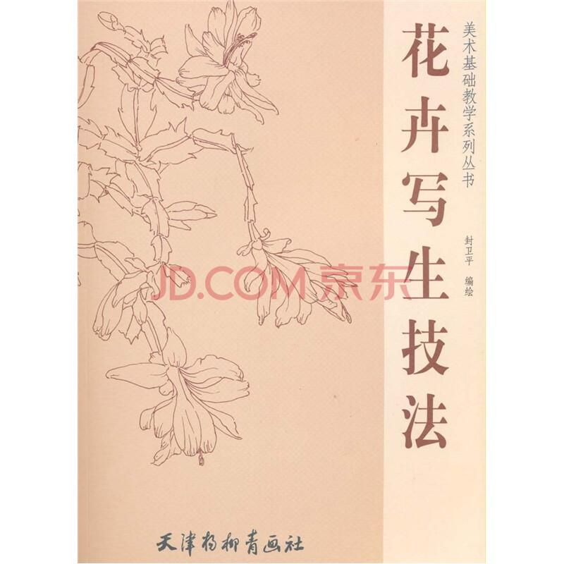 《美术基础教学系列丛书:花卉写生技法》(封卫平)图片
