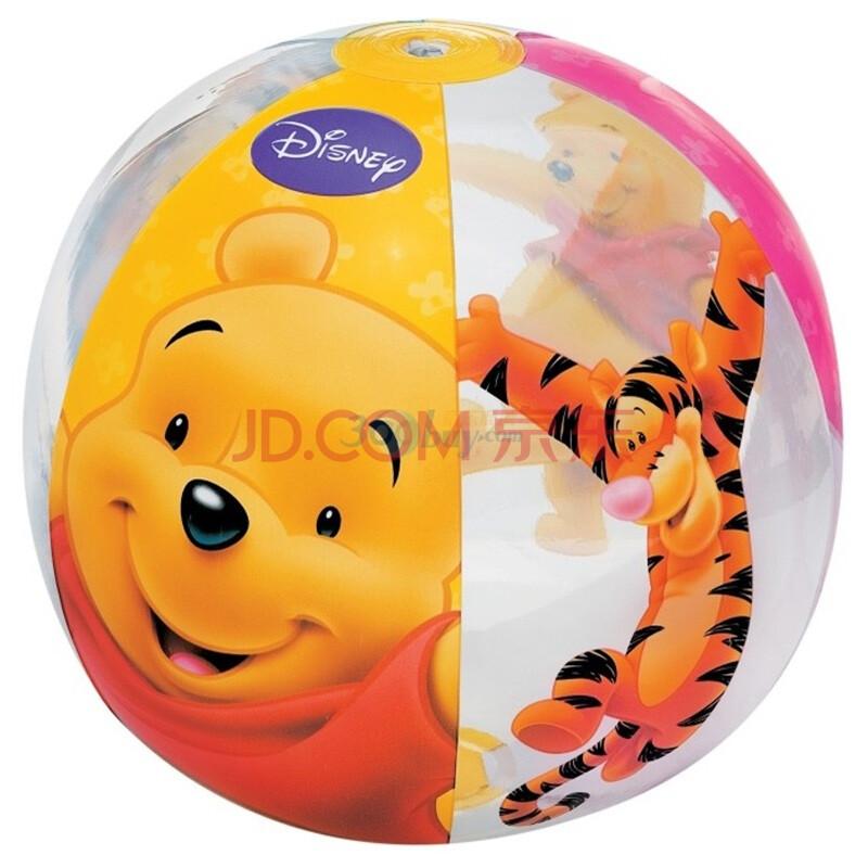 熊沙滩球 透明充气球